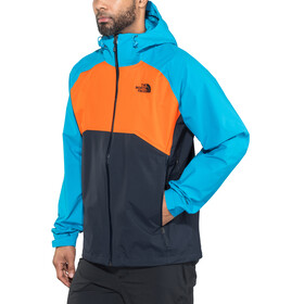 The North Face Stratos - Chaqueta Hombre - naranja/azul